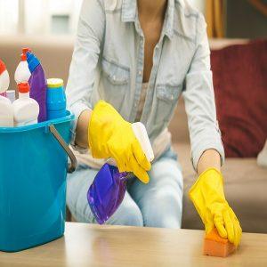 ekologiškos namų priežiūros priemonės